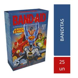 Band Aid Band-Aid Vingadores Com 25 Curativos