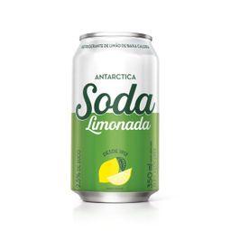 Soda Antarctica Refrigerante Limonada Zero Lata