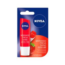 Protetor Labial Nivea Lip Care Hidratação Sabor De Morango 4.9 g