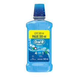 Oral-B Antisséptico Bucal Oral B Leve Menta 500 Pague