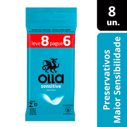 Preservativo Olla Sensitive 6 Und