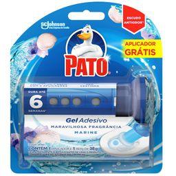 Desodorizante Pato Gel Adesivo Refil Marine
