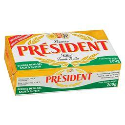 Président Manteiga Com Sal Em Tablete
