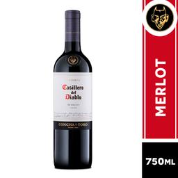Casillero Del Diablo Vinho Merlot Cód 299244 -