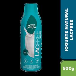 Verde Campo Iogurte Desnatado Lacfree Natural Sem Adocante