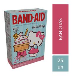 Band Aid Band-Aid Hello Kit Com 25 Curativos (2 Tamanhos)