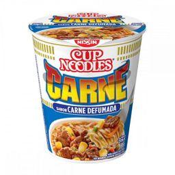 Cup Noodles Macarrão Instantâneo Carne Defumada