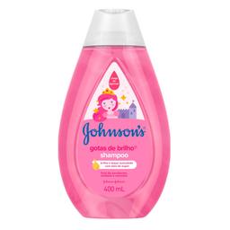 Johnsons Baby Shampoo Johnson S Baby Gotas De Brilho 400Ml