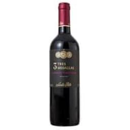 Vinho Chileno Tinto Tres Medallas Cabernet Sauvignon 750 ml