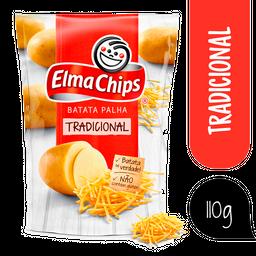 Elma Chips Batata Palha Na Mesa