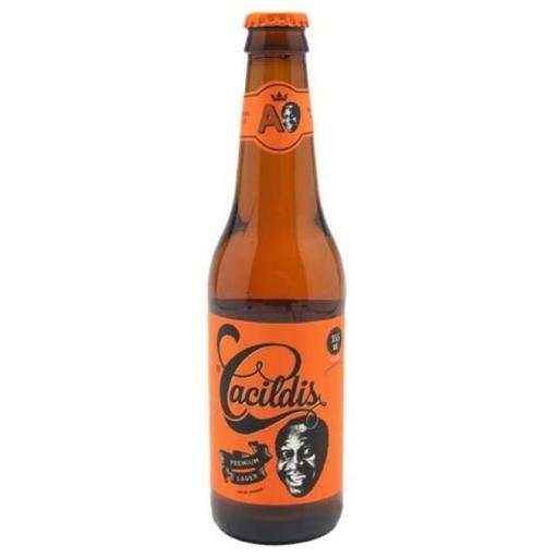 Cerveja Cacildis Lager Long Neck 355 mL