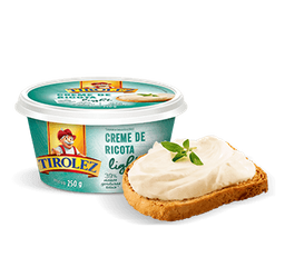 Creme de Ricota Light Tirolez - 200g