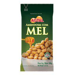 Amendoim com Mel Agtal - 100g