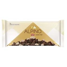 Chocolate Alpino White Top - Barrão