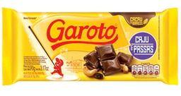 Chocolate Caju com Passas Garoto - 90g