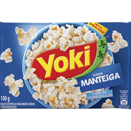Milho de Pipoca de Manteiga Yoki
