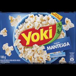 Milho de Pipoca de Manteiga com Sal Yoki