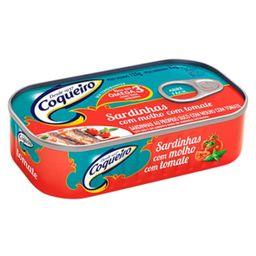 Sardinha de Tomate Coqueiro - 125g