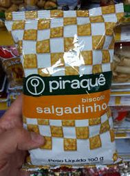 Biscoito Salgadinho Piraquê - 100g