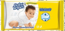 Lenço Umedecido Huggies Baby Wipes Cheirinho De Bebê 48 Und