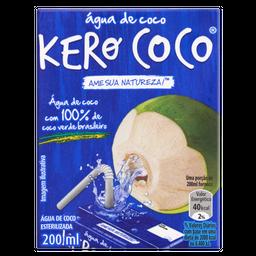10.05% em 3 Unid Água De Coco Kero-Coco 200 mL