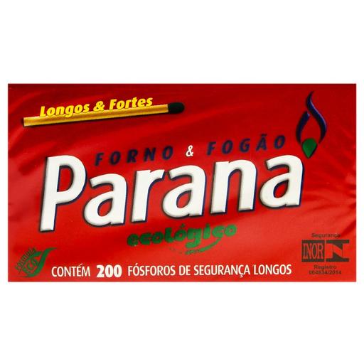 16% em 15 Unid Fósforo Paraná Eco Fobras 200 Und