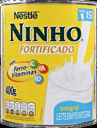 Leite Em Pó Ninho Integral Lata 400 g