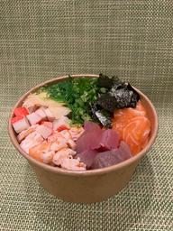Tirashi de Frutos do Mar