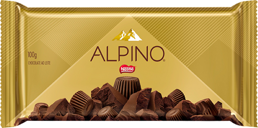 Choc Alpino Ao Leite 90 g