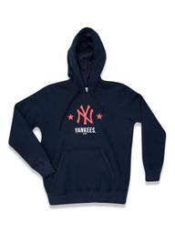 Moletom Juvenil Canguru Fechado New York Yankees Mlb New Era