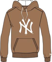 Moletom Canguru Fechado Plus Size New York Yankees Mlb New Era