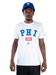 Camiseta Nba Philadelphia 76Ers Essentials Team Off White