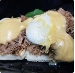 Eggs Benedict Pulled Pork