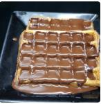 Pancake com Calda de Chocolate