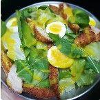 Salada Frango e Ovo