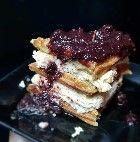 Waffle Cheesecake Frutas Vermelhas