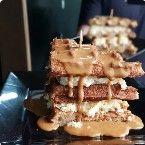 Waffle Cheesecake Doce de Leite