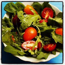 2x1 Tradicional Alface Americano, Rucula e Tomates