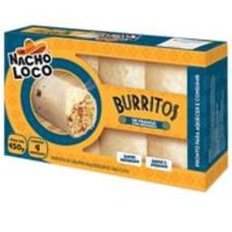 Nacho Loco Burrito Frango Com Requeijão 450 G