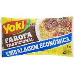 Yoki Farofa Pronta Temperada