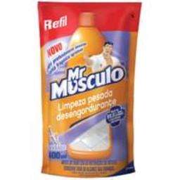 Limpador Mr. Músculo Limpeza Pesada Piso Lavanda Refil