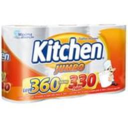 Kitchen Papel Toalha Branco Jumbo