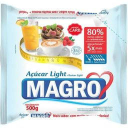 Açúcar Magro Light - Lowçucar 500 g