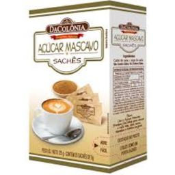 Açúcar Mascavo DaColônia Sachês 125 g