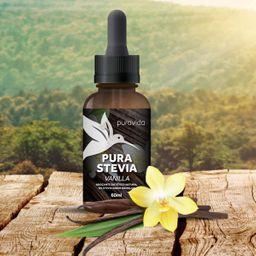 Adoçante Líquido Puravida Vanilla Stévia 60 mL