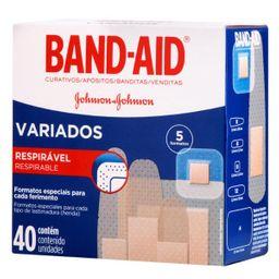 Band-Aid Formas Variados 40 Und