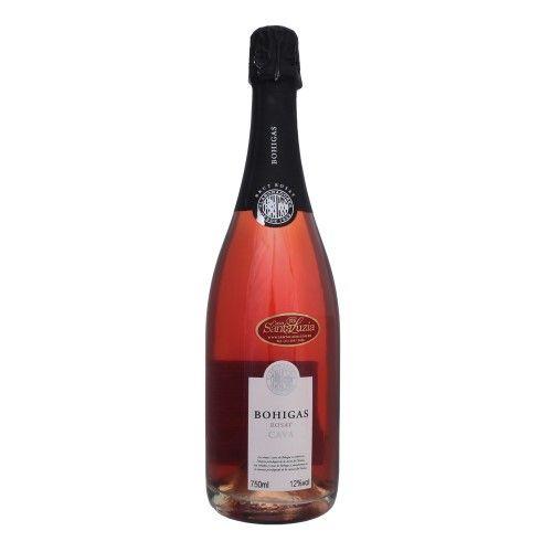 Champanhe Bohigas Brut Rosé 750 mL