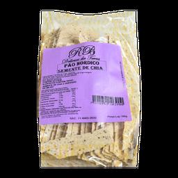 Pão Nórdico Aperitivo Rb Chia 180 g