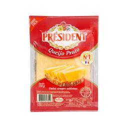 Queijo Prato President Fatiado 150 g