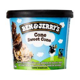 Sorvete Ben&Jerrys Cone Sweet Cone 120 mL